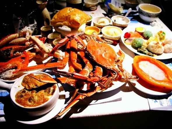 海鲜 美食 蟹 590_442