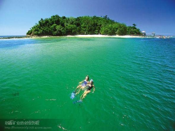 菲律宾海岛-白沙岛
