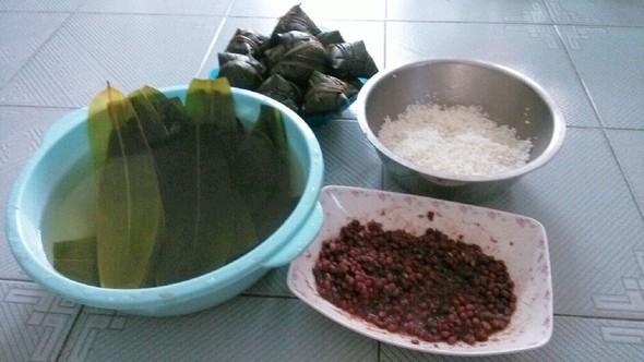 素描制作粽子步骤