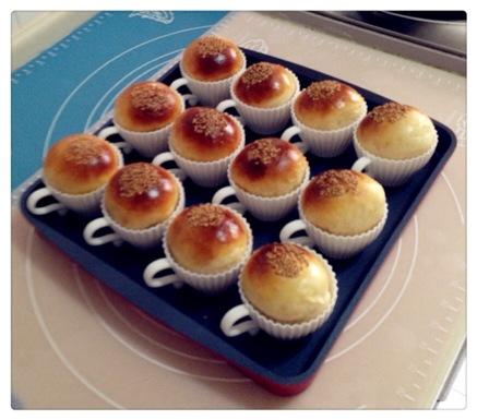 蛋奶杯子小面包 家 可爱的杯子面包 分享 新浪微博qq空间腾讯微博