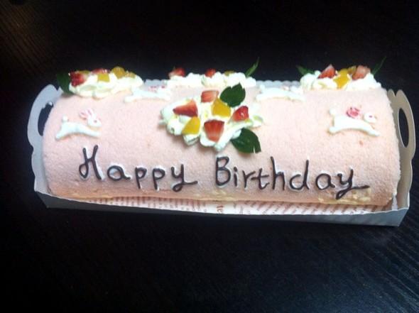 小兔子蛋糕卷