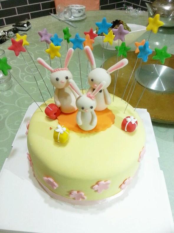 蛋糕图片可爱儿童版