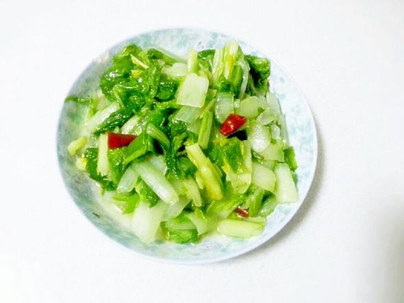 青炒小白菜