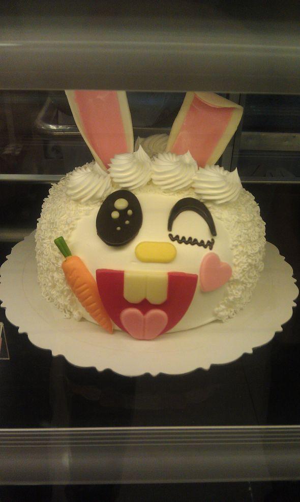 小兔子蛋糕