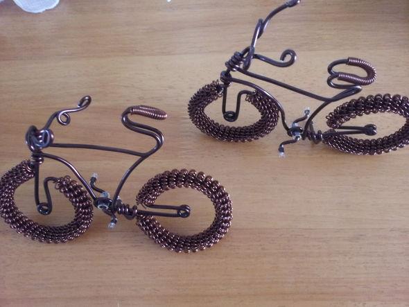 手工制作的自行车