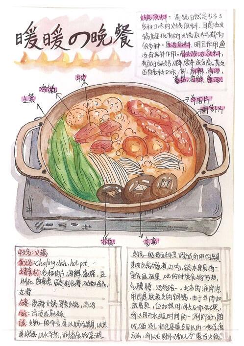 暖暖的晚餐