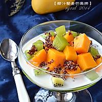 椰汁藜麦芒果捞——雄鷄標™椰浆试用菜谱