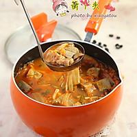 黑豆系列——黑豆腐泡菜锅