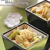 【西葫芦炒鸡蛋】——利仁电火锅试用菜谱(四)