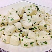 凉拌薄荷豆腐