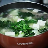 豆腐青菜鱼汤