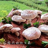 蛋白霜小蘑菇#长帝烘焙节#
