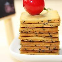 【番茄配方】黑芝麻小饼,浓浓芝麻味香香中国节。