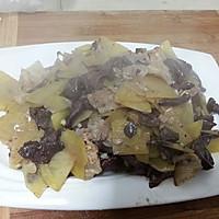 [10分钟系列]红蘑炒土豆片