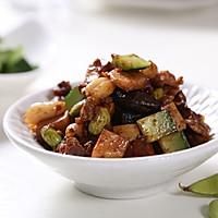 自动烹饪锅简单做年糕花蟹-捷赛私房菜