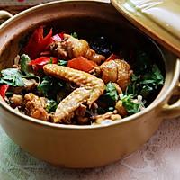 沙姜啫啫鸡煲