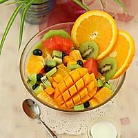 水果酸奶伴