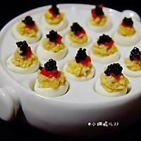 #十二道锋味复刻# 鱼子酱鹌鹑蛋杯