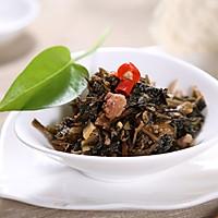 自动烹饪锅简单做肉末梅干菜-捷赛私房菜