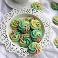 彩虹曲奇饼干--#长帝烘焙节#