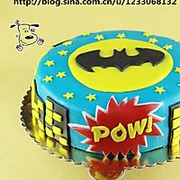 把拯救世界的任务交给一个蛋糕吧!——翻糖蝙蝠侠蛋糕
