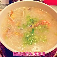 鲜美无比的海鲜粥!