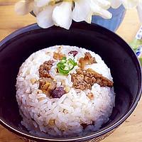 海参红豆荞麦饭