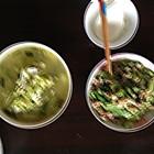 芹菜豆腐鱼、青瓜肉片