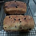 肉桂葡萄干核桃面包。