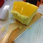 吃了一半的芝士蛋糕
