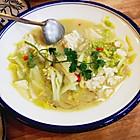 骨汤炖白菜豆腐