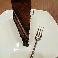 浓情黑巧克力蛋糕