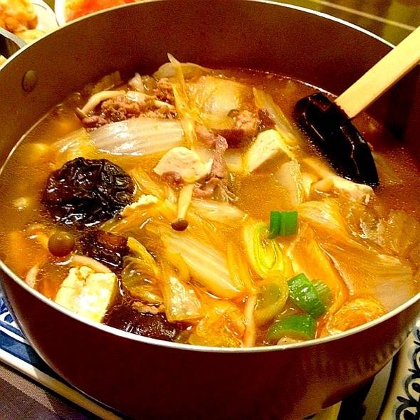 韩式牛肉菌菇汤