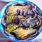 白菜蒸金针菇