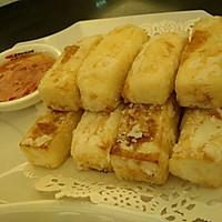 脆皮黄金豆腐