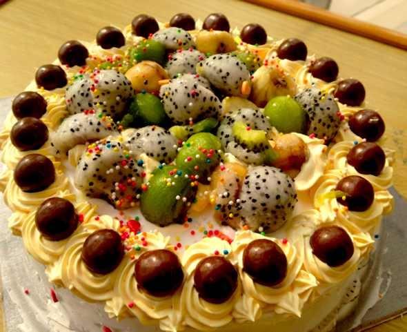 给外公的生日蛋糕