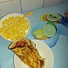 蛋奶海星+自制的手抓饼
