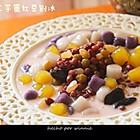 純手工芋園紅豆刨冰