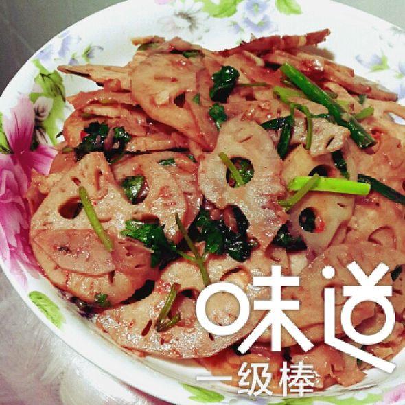 南乳炒莲藕----小丽家常菜