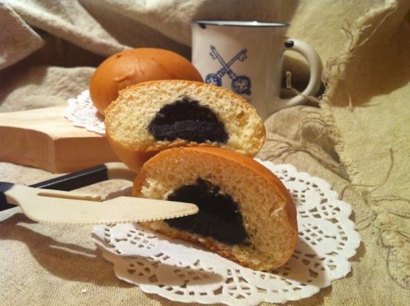 黑芝麻小甜包