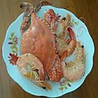 梭子蟹和渤海湾大虾