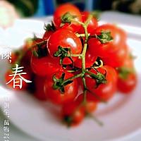 新鲜的西红柿