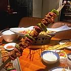 特色大肉串
