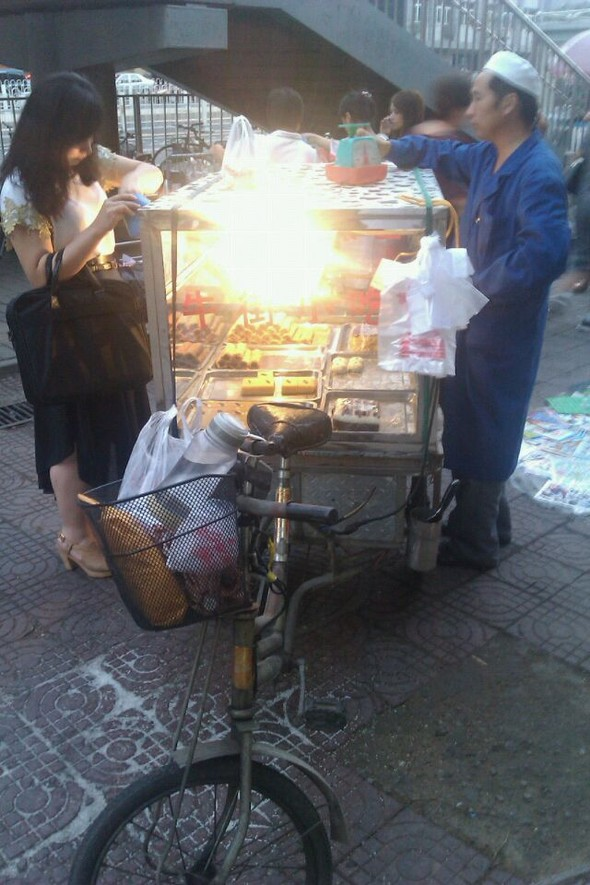 北京小吃摊