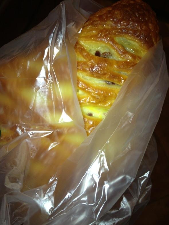 苹果派面包