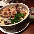 椰香鸡焗紫薯