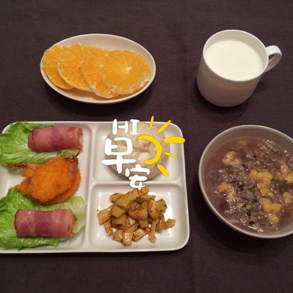 周二的早餐