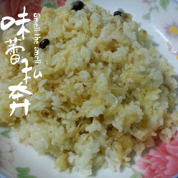 土豆丝炒米饭