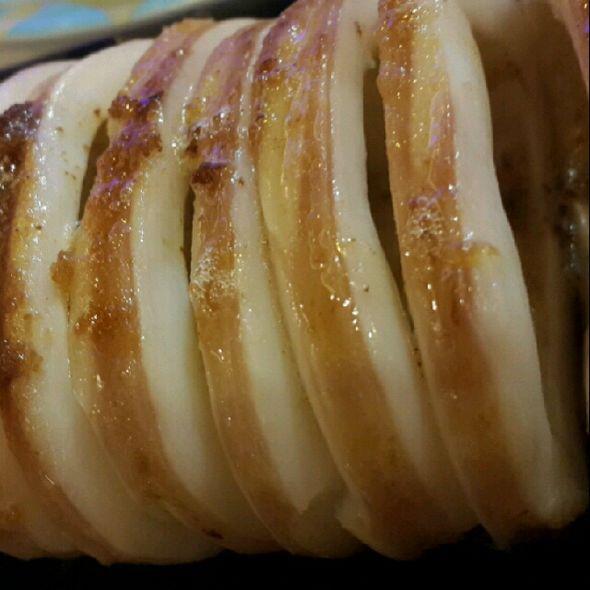黄油焗鱿鱼