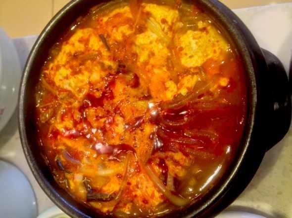 辣牛肉粉丝汤